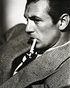 Actress Digital Art Framed Prints - Gary Cooper Framed Print by Sanely Great