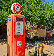 American Automobiles Originals - Gas Pump at Embudo Gas Museum by Jeff Black