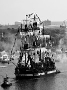 Gasparilla Prints - Gasparilla Ship 2013 Print by David Lee Thompson