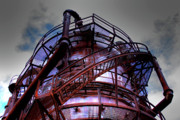 Ironworks Framed Prints - Gasworks III Framed Print by David Patterson
