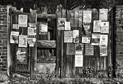On Paper Photo Originals - Gate Advertising by Vinicios De Moura