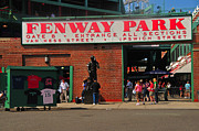 Red Sox Metal Prints - Gate B Fenway Park Metal Print by Mike Martin