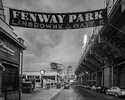 Boston Red Sox Metal Prints - Gate E Metal Print by Paul Treseler
