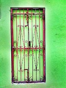 Old San Juan Digital Art Prints - Gate to nowhere Print by Olivier Calas