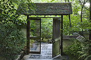 Most Metal Prints - Gates of Tranquility Metal Print by Sandra Bronstein