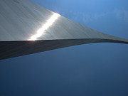 Mississippi Photographs Prints - Gateway Arch St Louis 08 Print by Thomas Woolworth