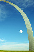 Gateway Arch Print by Steven  Michael