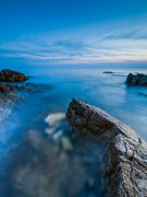 Blue Hour Prints - Gateway Print by Davorin Mance