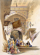 Gateway Of A Bazaar, Grand Cairo, Pub Print by A. Margaretta Burr