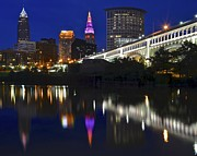 5x7 Prints - Gateway to Cleveland Print by Robert Harmon