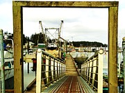 Far Above Framed Prints - Gateway to Open Water  Framed Print by Pamela Patch