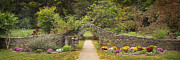 Indiana Landscapes Photo Prints - Gateway to the Garden Print by Wendell Thompson