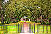Slaves Framed Prints - Gateway to the Old South paint Framed Print by Steve Harrington