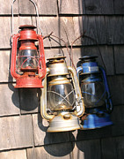 Kerosene Lamps Prints - Gathering Rust Print by James Graves