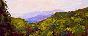 Gatlinburg Painting Framed Prints - Gatlinburg Framed Print by Ann Dowless