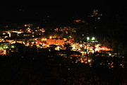 Gatlinburg Tennessee Photo Prints - Gatlinburg at Night Print by Nancy Mueller
