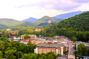 Summer Vacation Framed Prints - Gatlinburg Tennessee Framed Print by Robert Harmon