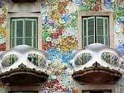 Espana Originals - Gaudi Casa Bastillo by Greg Mason Burns
