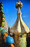 Joseph Photos - Gaudi - Casa Batllo - Barcelona Spain by Jon Berghoff