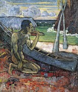 Poor People Prints - Gauguin, Paul 1848-1903. The Poor Print by Everett