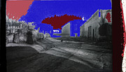 Prostitutes Photo Framed Prints - Gay Alley Tucson Arizona red light district c.1895-2012 Framed Print by David Lee Guss
