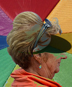 Old Lady Photos - Gay old Times  by Jerry Cordeiro