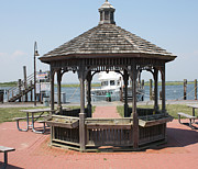Gazebo Greeting Card Prints - Gazebo At Captree State Park Print by John Telfer