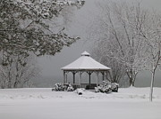 Avis  Noelle - Gazebo in Winter