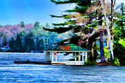 Les Palenik - Gazebo On Blue Lake