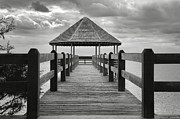 Currituck Art - Gazebo With A View II by Steven Ainsworth