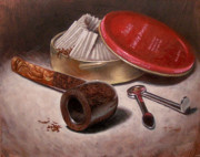 Pipe Paintings - GBD Topaz by Timothy Jones