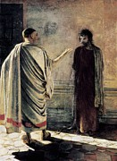 Pilate Art - Ge, Nikolai Nikolaevich 1831-1894. What by Everett