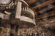 Wine Cellar Photos - Gears of Wine by Jason Politte