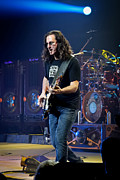 Hall Of Fame Band Framed Prints - Geddy Lee Framed Print by April Reppucci