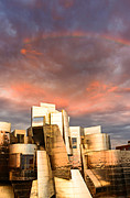 University Of Minnesota Art - Gehry Rainbow by Joe Mamer