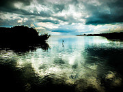 Cloud Reflections Photos - Geiger Key by Karen Wiles