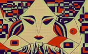 Geisha Print by Chandrima Dhar