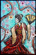 Tara Richelle - Geisha in the cherry...