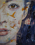 Michael Painting Posters - Geisha Poster by Michael Creese