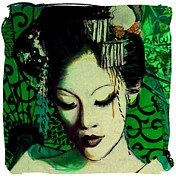 Susan Washington Art - Geisha Series 1 by Susan Washington