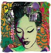 Susan Washington Art - Geisha Series 2 by Susan Washington