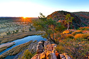 Bill  Robinson - Gelen Helen Gorge Sunrise