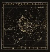 Gemini Constellation, 1829 Print by Science Photo Library