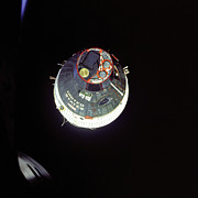 Spacecraft Photos - Gemini VII Orbit 1965 - NASA by World Art Prints And Designs