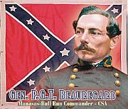 P-g Posters - Gen. P.G.T. Beauregard Poster by Harry West