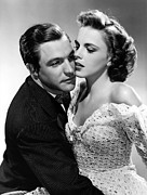 Judy Garland Framed Prints - Gene Kelly with Judy Garland Framed Print by Sanely Great