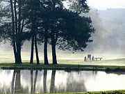 Reflecting Art - Genegantslet Golf Club by Christina Rollo