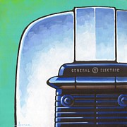 Toaster Paintings - General Electric Toaster by Larry Hunter