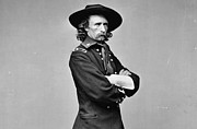 General George Armstrong Custer Killed 1876 Little Big Horn  Print by David Call
