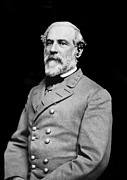 Gettysburg Metal Prints - General Robert E Lee - CSA Metal Print by Paul W Faust -  Impressions of Light